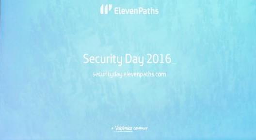 Qué hemos presentado en el Security Day 2016 (I)