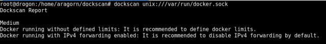 Respuesta de Docker sin contenedores imagen