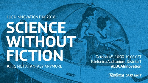 banner de evento science without fiction