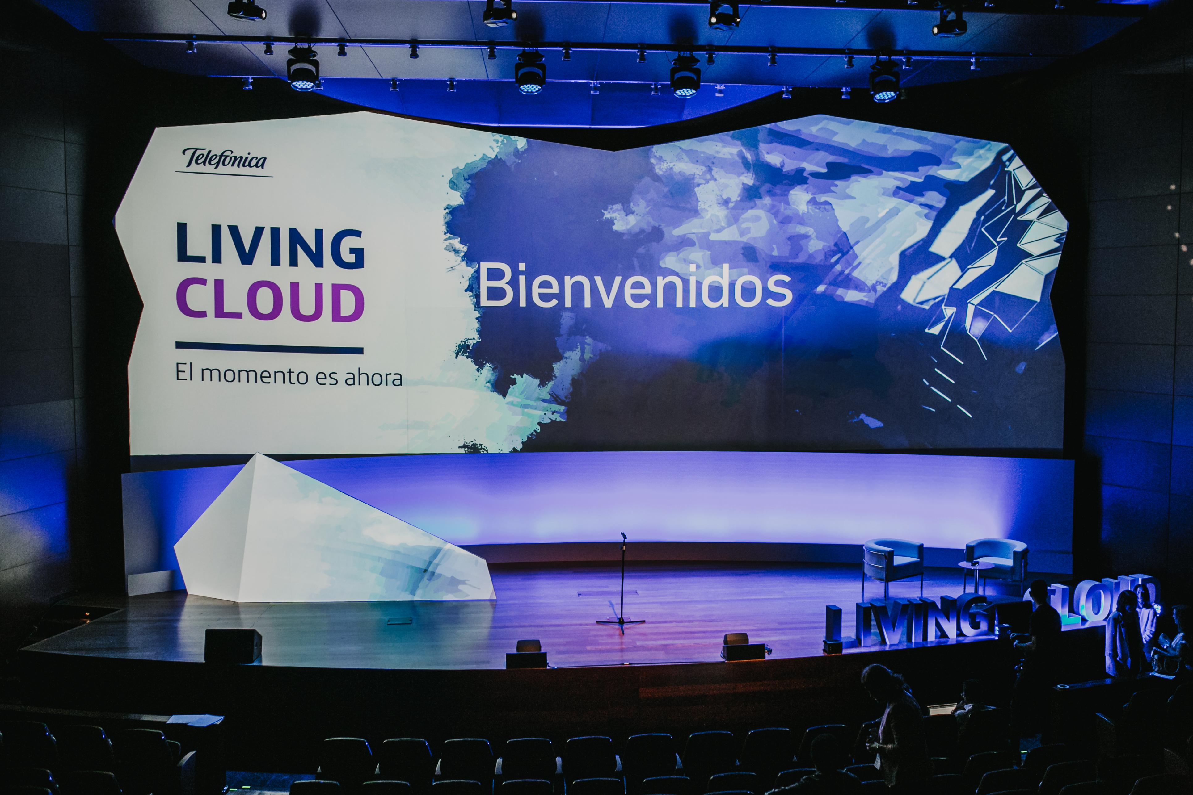 Evento Living Cloud de Telefónica