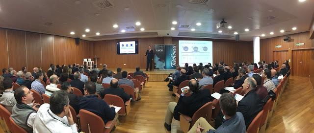 Figura 1: Imagen del auditorio durante el evento #CTGValencia.