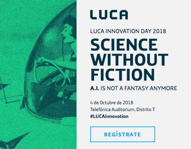 Figura 2: LUCA Innovation Day 2018
