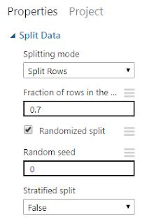 Figura1: Propiedades del módulo Split.