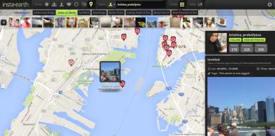 InstaEarth_5 mapas para ver fotos de Instagram geolocalizadas 4