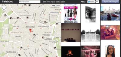 Instahood_5 mapas para ver fotos de Instagram geolocalizadas 1