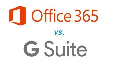 Office 365 y G-Suite