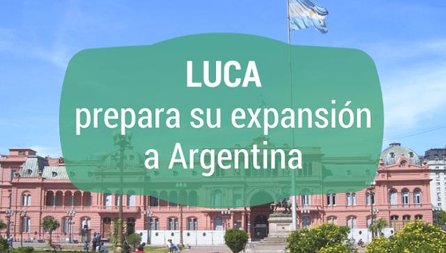 Expansión LUCA Argentina