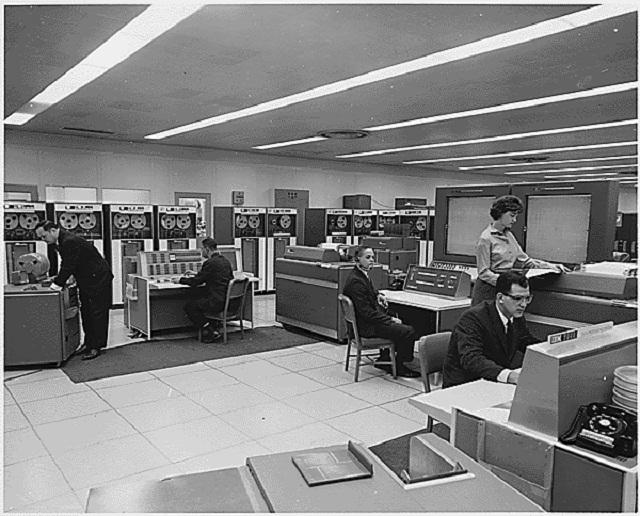 Sala computadores NASA