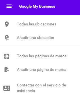 Nuevo google my business