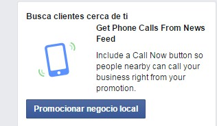 Promocionar tu negocio local
