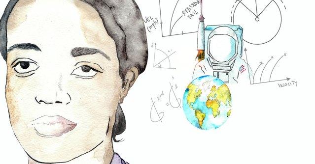 Ilustración Dorothy Vaughan