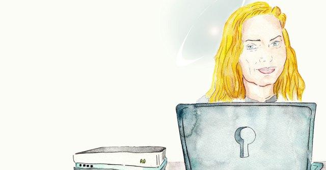Ilustración Jude Milhon