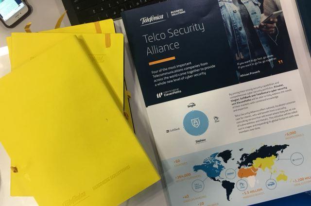 Folleto Telco Security Alliance imagen
