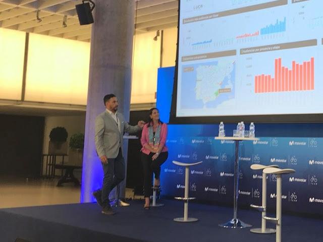 Pedro Antonio de Alarcón y Elena Gil nos muestran las analíticas de la Vuelta.