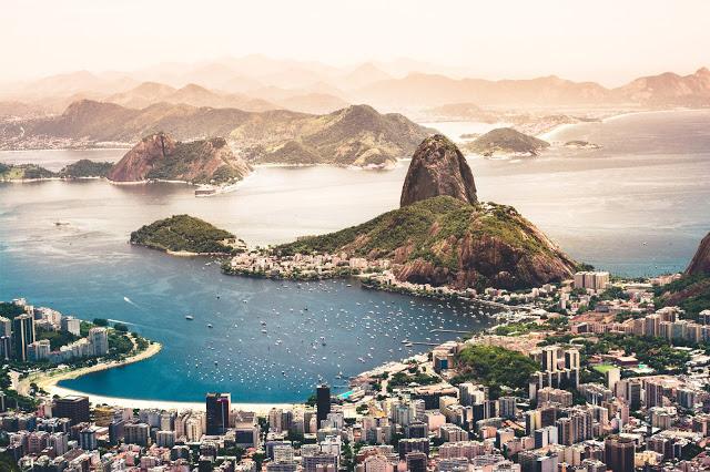 Figura 2: Bahía de Río de Janeiro.