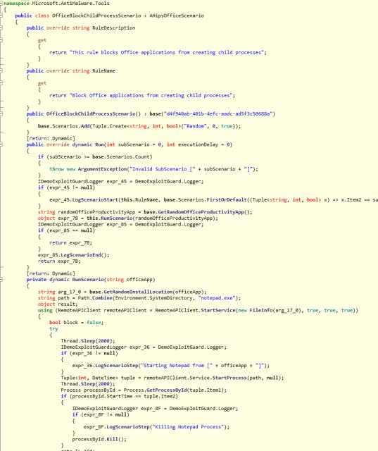 ExploitGuard Demo reverse imagen