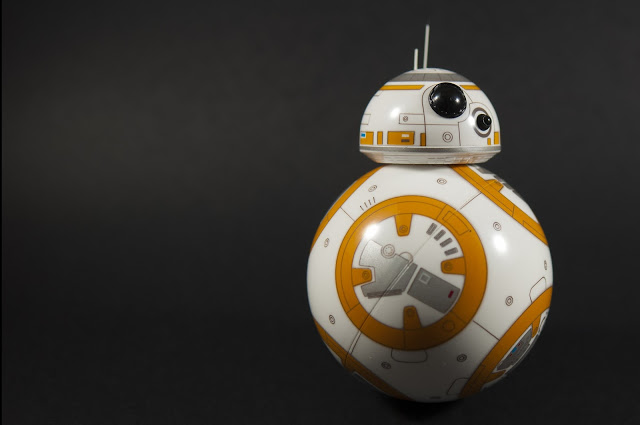 Figura 2 : BB-8, el droide de Star Wars: The Force Awakens. (Pixabay)