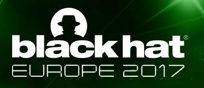 Logotipo conferencia Black Hat Europe 2017