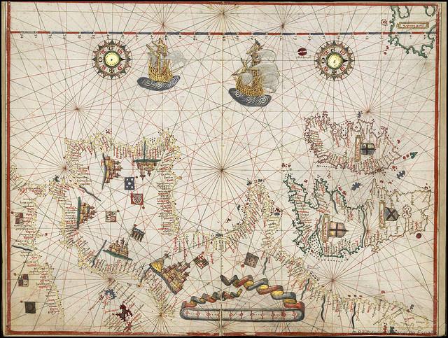 Carta Mapa mundi