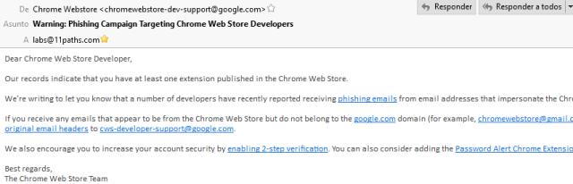 Recurso extensión de Chrome