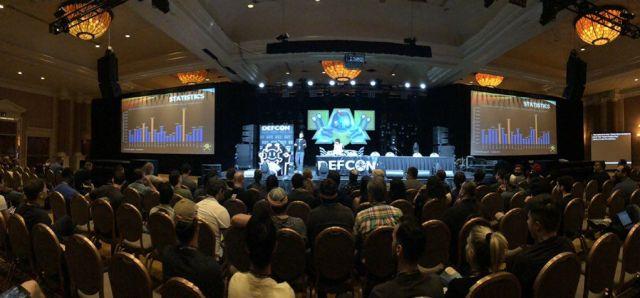 foto del auditorio de DefCon