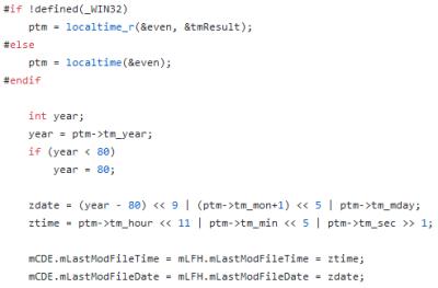 setModWhen function inside aapt source code imagen