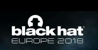 Black Hat Europe 2018 imagen