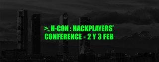 H-CON HackPlayers ciberseguridad imagen