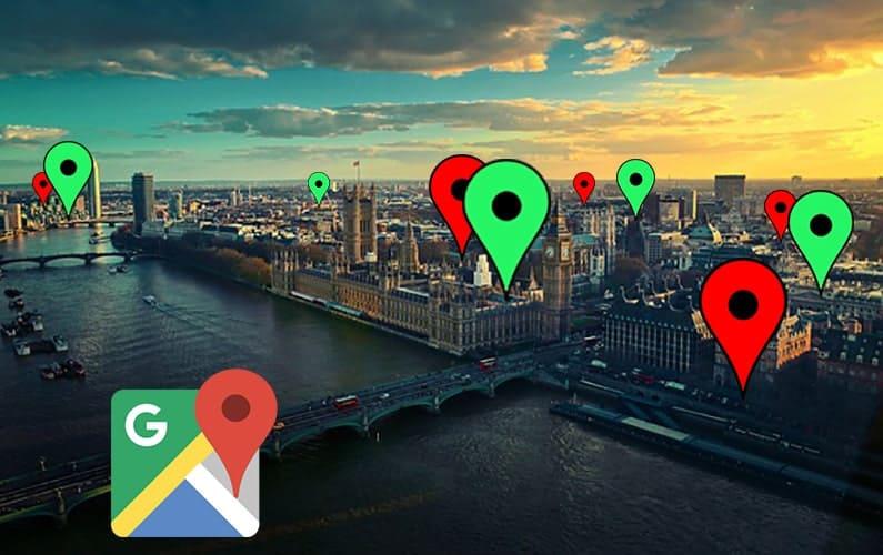 google maps london