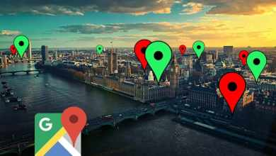 google maps london