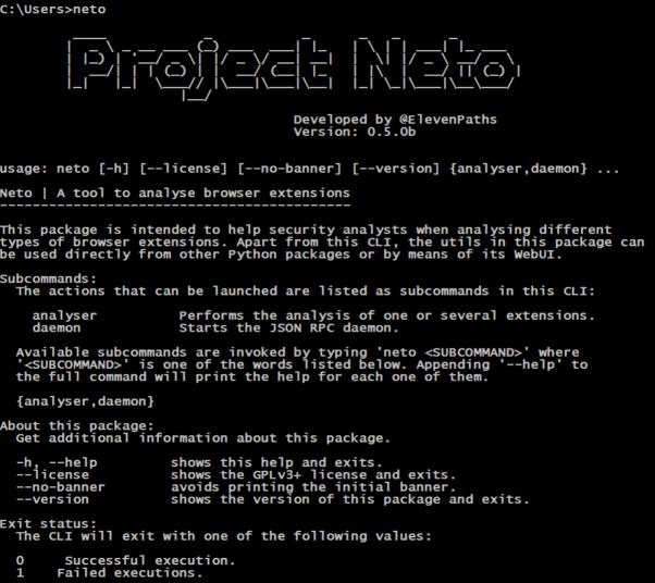 Funcionalidades principales de Neto imagen