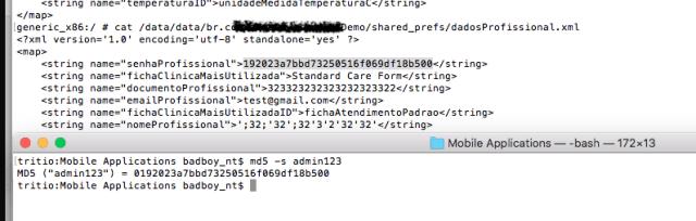 """Usando base64 para """"cifrar"""" contraseñas (archivo xml legible) imagen"""