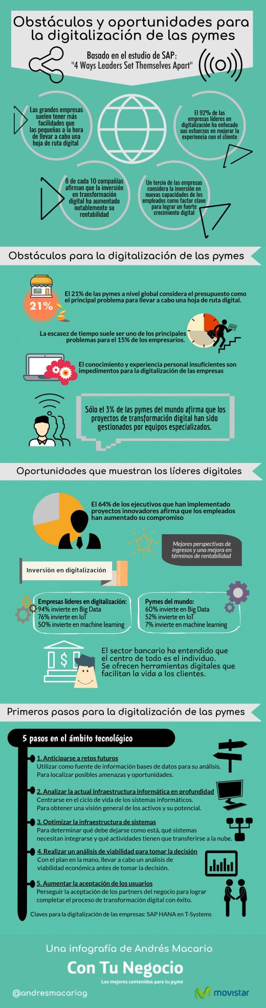 obstáculos y oportunidades digitalización