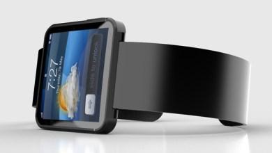 Imagen conceptual de smartwatch