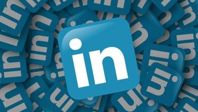 Infografía Cambios de diseño LinkedIn