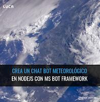 Crea un chatbot meteorológico