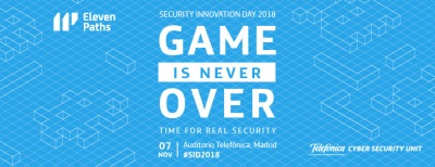 Security Innovation Day 2018: Game is Never Over imagen