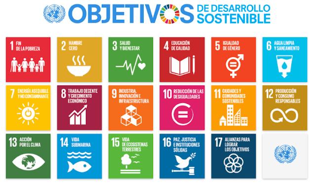 Figura 3: Objetivos de Desarrollo Sostenible (Naciones Unidas).