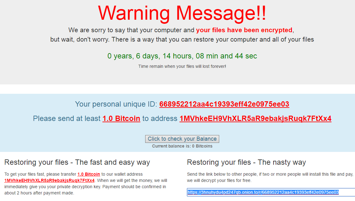ElevenPaths discovers the Popcorn ransomware passwords: no