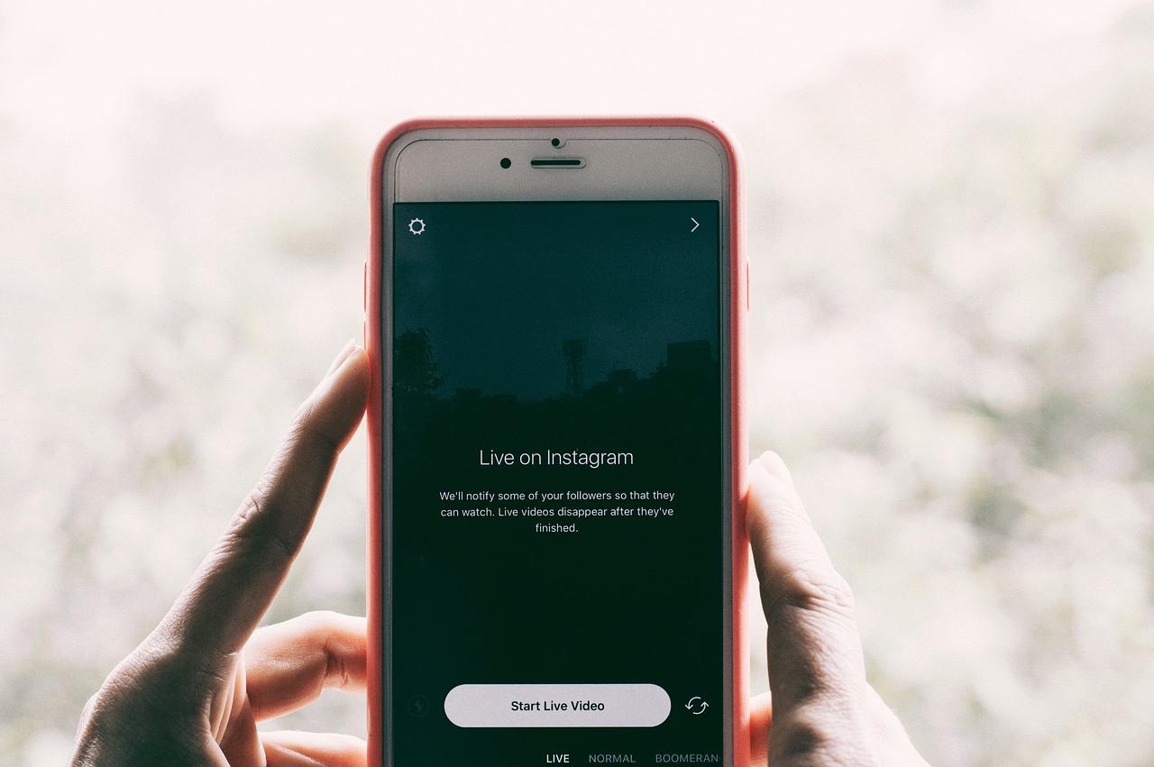 pyme una cuenta en Instagram