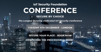 IoT Security Foundation Conference imagen
