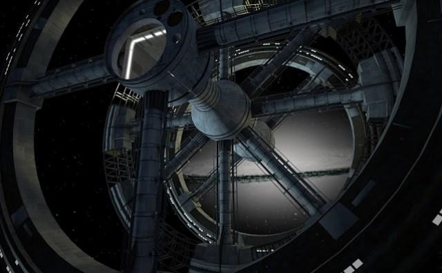 Figura 1: Estación espacial.