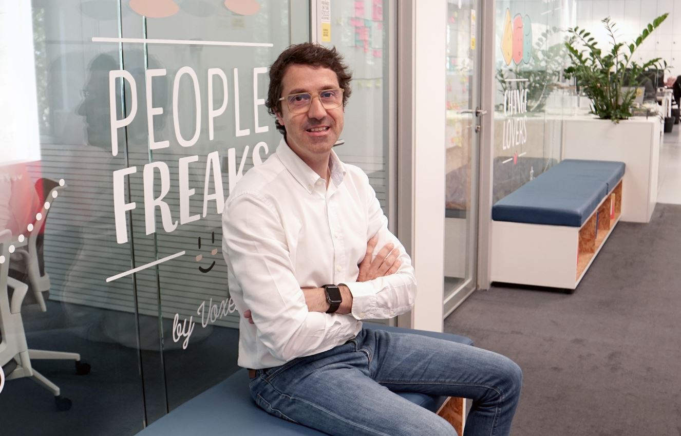 Ángel Garrido, de Grupo Voxel