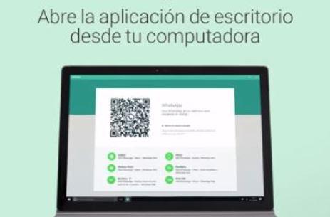 Abre Whatsapp desde el PC