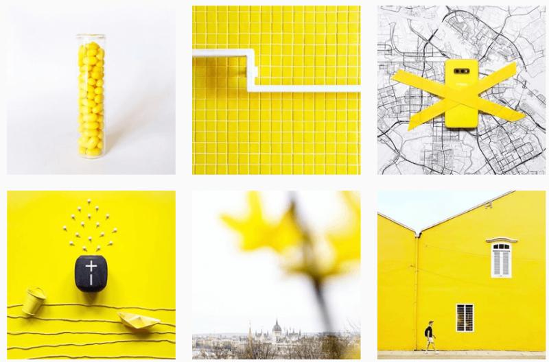 diseña un feed en Instagram