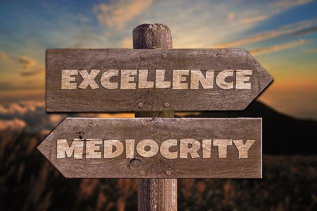 ¿Organizaciones excelentes o mediocres?