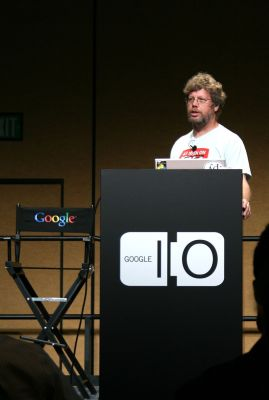 Guido van Rossum By Alessio Bragadini - originally posted to Flickr