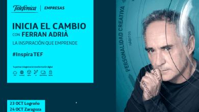 Inicia el cambio con Ferran Adrià