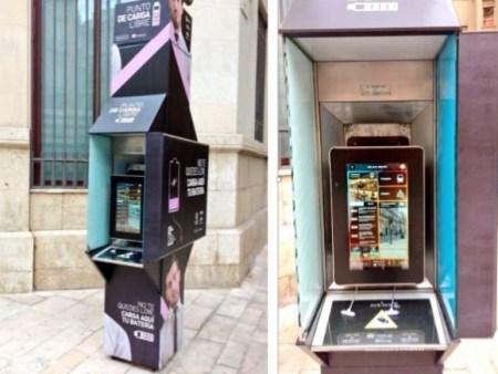 Reinvención cabinas telefónicas